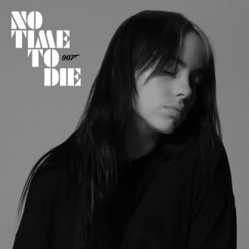 ビリー・アイリッシュ「No Time To Die」ジャケット写真