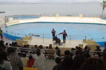 JAF福岡 交通安全イベント inマリンワールド海の中道