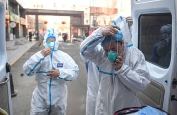 内モンゴル自治区の医療関係者、新型肺炎の拡大阻止に奔走