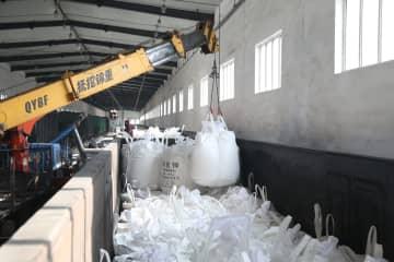優先手続き実施で、春の耕作向け肥料輸入支援 黒竜江省綏芬河