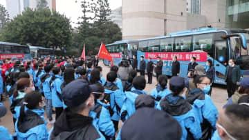 福建省、医療支援チーム277人を武漢市に追加派遣