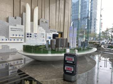 深圳の産業パーク、ロボットで感染対策