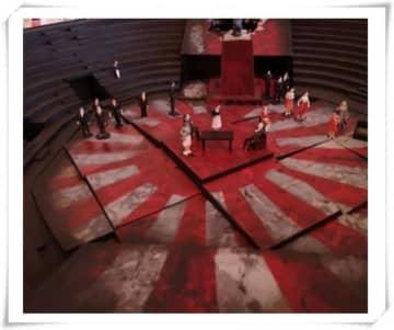 ドイツの劇場がオペラの舞台に「旭日旗」を使用、韓国人が抗議も「変更しない」