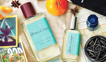 The scents had notes of black pepper, coffee, lavender, jasmine, bergamot and oud.