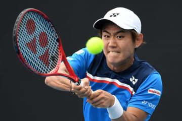 「全豪オープン」での西岡良仁