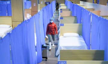 中医学を主とする臨時医療施設が開設 湖北省武漢市