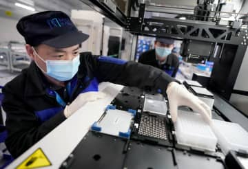 武漢東湖開発区の企業、生産に全力