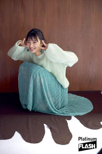 HKT48 松本日向【オフショット】Platinum FLASH Vol.12
