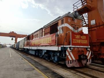 「義新欧」中欧班列が運行再開 中央アジア諸国へ貨物輸出