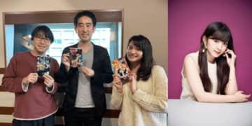 (左から)鈴村健一、高橋祐馬さん、ハードキャッスル エリザベス、鈴木愛理さん