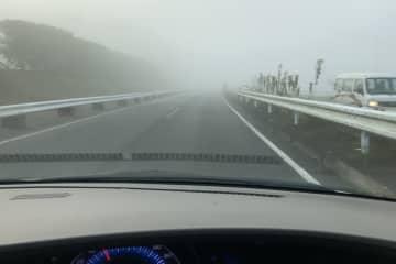 ※霧で視界不良のイメージ