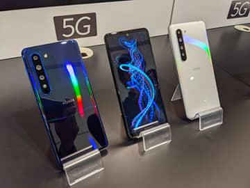 シャープ初の5Gスマートフォン「AQUOS R5G」