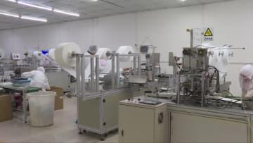 石家荘の日用品製造企業、医療用マスクの生産許可を初めて取得