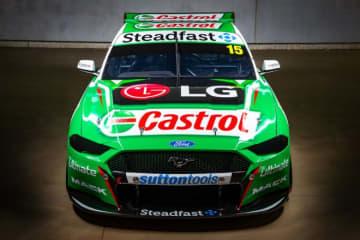 オーストラリア・スーパーカー開幕に向け体制発表相次ぐ。カストロール、モンスターエナジーカラーも登場