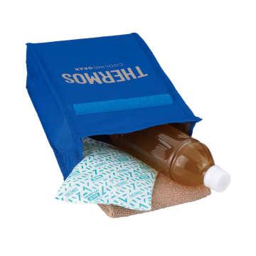 「サーモススポーツ保冷バッグ(REY-003)」ブルーシルバー