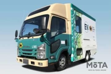 ヤマト運輸 中型商用EVトラック導入 エルフEVウォークスルーバン