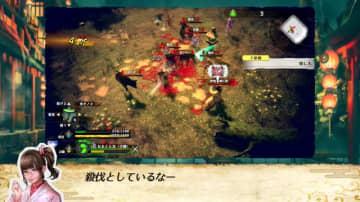 『侍道外伝 KATANAKAMI』オンラインマルチは時に心強く、時に血みどろ殺伐!アクション面を紹介する最新映像公開