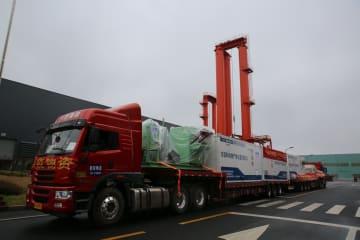 移動式医療廃棄物処理設備と医療廃棄物焼却炉、武漢市に緊急発送