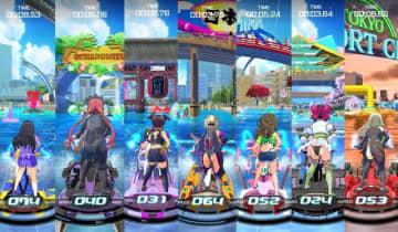 """『神田川JET GIRLS』の真髄は背中にあり!?レースゲームならではの""""後ろ姿コレクション""""を紹介"""
