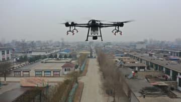 農村の感染対策に改造した農業機械が活躍 河北省