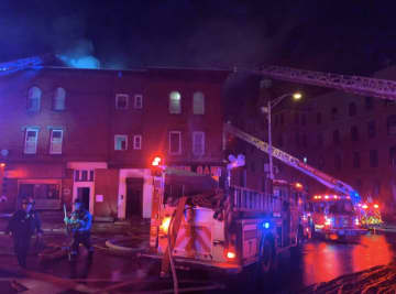 Restaurant, apartments damaged in fire near Newark college campuses