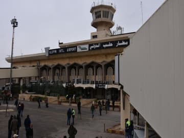 Syria to open Aleppo airport to civilian flights after 'record' military victories