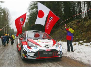WRC第2戦・2020年ラリー・スウェーデンで優勝した、エルフィン・エバンス/スコット・マーティン組のヤリスWRC33号車