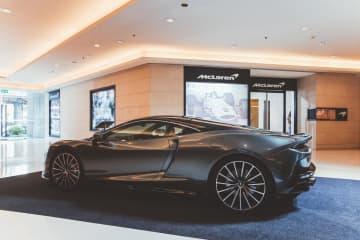 McLaren GT Luxury Supercar Style Grand Tourer. photos courtesy of McLaren Bangkok