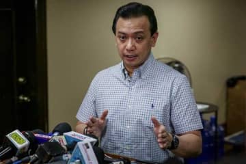 Trillanes posts bail for conspiracy to commit sedition case