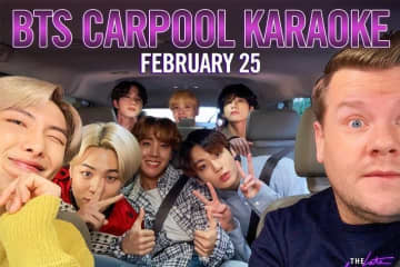 BTS buckles up for 'Carpool Karaoke' with James Corden