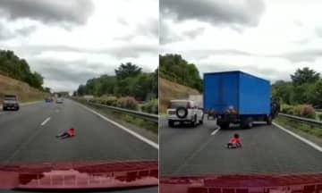 大道飙车致孩童抛车外,二嫌犯被控危险驾驶罪