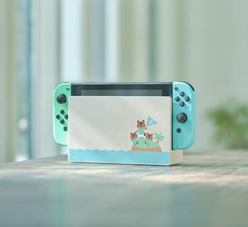 3月7日に予約受付を開始する「Nintendo Switch あつまれ どうぶつの森セット」に含まれる本体