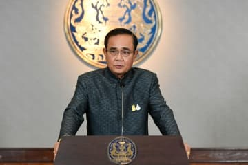 """It's important that there be an appropriate place for the leader of the country,"" says Prime Minister Prayut Chan-o-cha. (Government House photo)"