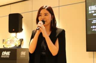 SKE48の松井珠理奈がシンガポール大会のスペシャルゲストに就任、3選手にエールを送った