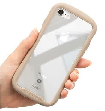 iPhone 11 Pro専用iFace Reflection 強化ガラス クリアケース ブラック