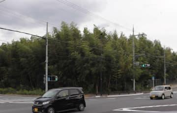 「道の駅」的施設の建設が検討されていた竹林(京都府長岡京市井ノ内)