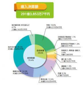 菊池市の家計簿 平成30年度決算