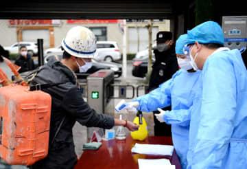 感染対策の徹底と生産再開を支援 河北省