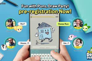リアルタイムなお絵描きクイズに盛り上がること必至!『KOONGYA Draw Party (クンヤ・ドローパーティ)』事前登録を開始