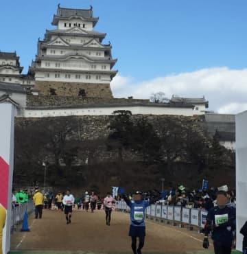 過去の世界遺産姫路城マラソンより(写真:ラジオ関西)