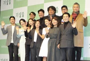 アカデミー賞を受賞し、韓国に凱旋したポン・ジュノ監督