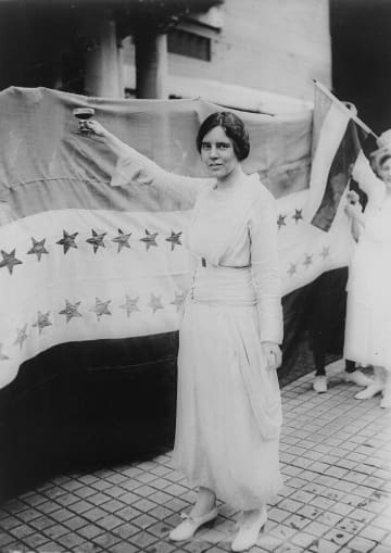 A movement is afoot to have a statue of New Jersey native Alice Paul, a hero of the women's suffrage movement, represent the state in the U.S. Capitol. (Unknown/)