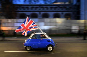 """London's aim is to """"reduce overall migration numbers"""", a key demand of Brexit supporters."""