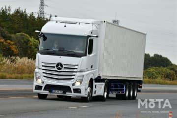 トラック輸送のイメージ