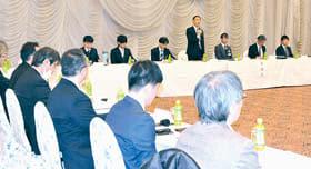 長期構想の素案が示された検討委の2回目の委員会