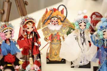 Adorable dolls from China. Siam Paragon