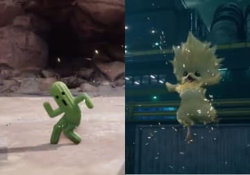 『FF7 リメイク』召喚獣「サボテンダー」と「コチョコボ」の紹介映像公開!クラウドをサポートするその姿は、可愛くも頼もしい