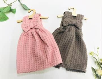 ドレスみたいなタオル、可愛すぎでは? ハンガー付で500円以下だよ!