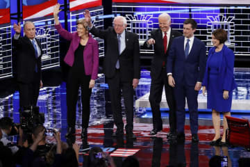 Poll: Who won the Democratic presidential debate (02/19/20)? How did Sanders, Bloomberg, Warren do?
