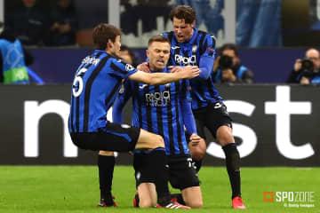 イタリア屈指の攻撃力でアタランタが4ゴール勝利